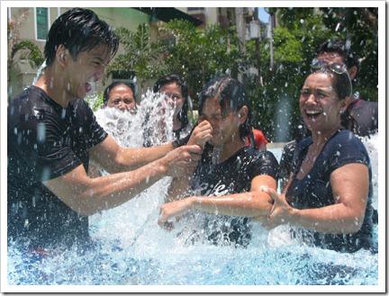 umak water baptism